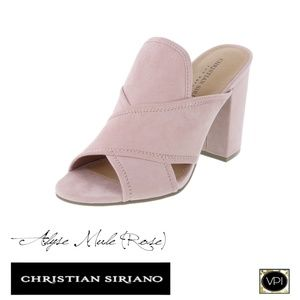 Alyse Mule's Size 10 in Rose,by Christian Siriano